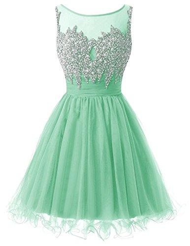 Ysmo - Vestido - Noche - para mujer verde verde menta 46