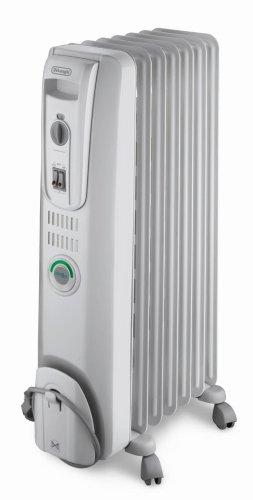 DeLonghi EW7707CM Safe Heat 1500W ComforTemp Portable Oil-Filled Radiator (Smart Service Tool compare prices)