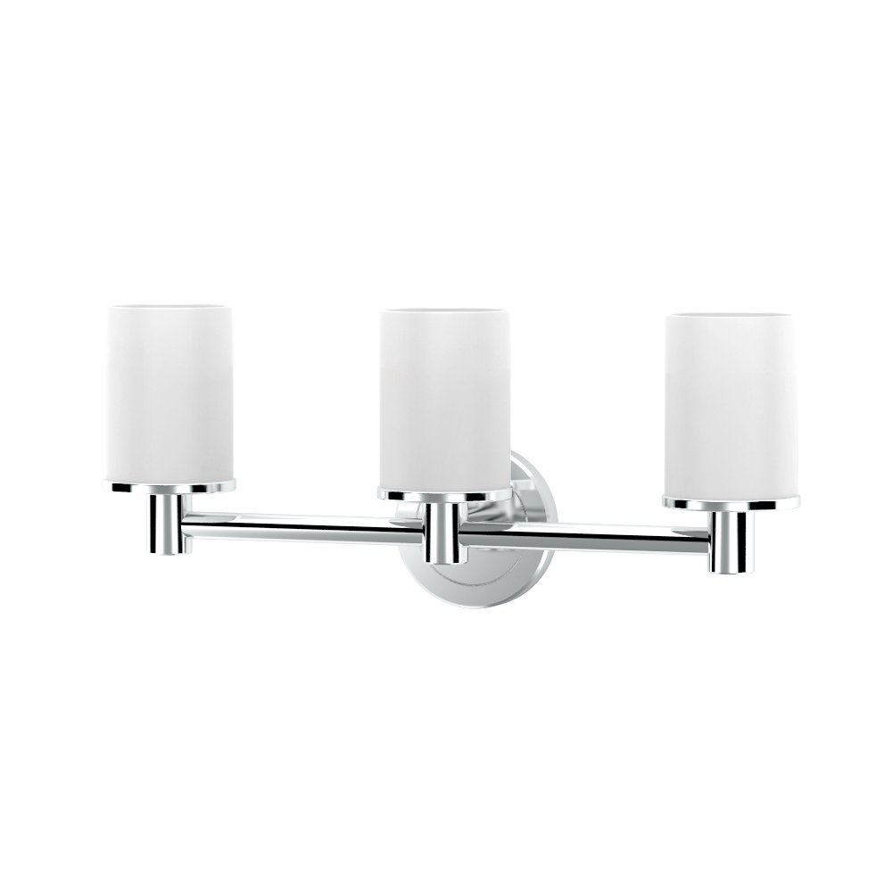Gatco 1686 Latitude II Triple Sconce Light, Chrome