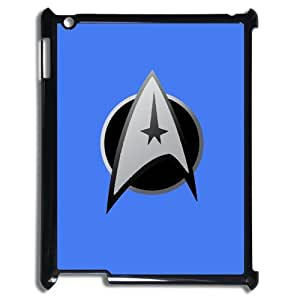 Star Trek Ipad 1/2/3/4 Case Cover HD Image snap on Top Ipad Cases Black Sides