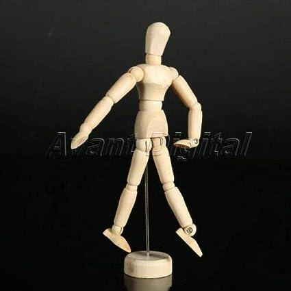 Nice Gift Manikin Mannequin Artist Wooden Sketching Jointed Human Model Figure