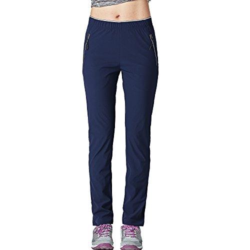 GITVIENAR Womens Outdoor Lightweight Quick-dry Pants Casual Climbing Hiking Mountain Stretch Trousers