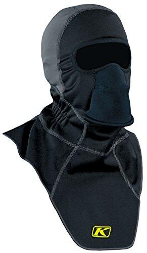 KLIM Mens Arctic Fleece-Lined Neoprene Balaclava, Black, One Size Fits All