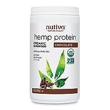 Nutiva - Hemp Protein Organic Superfood Powder - Chocolate - 454g