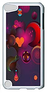 Abstract Shapes Custom iPod Touch 5 Case Cover Polycarbonate White
