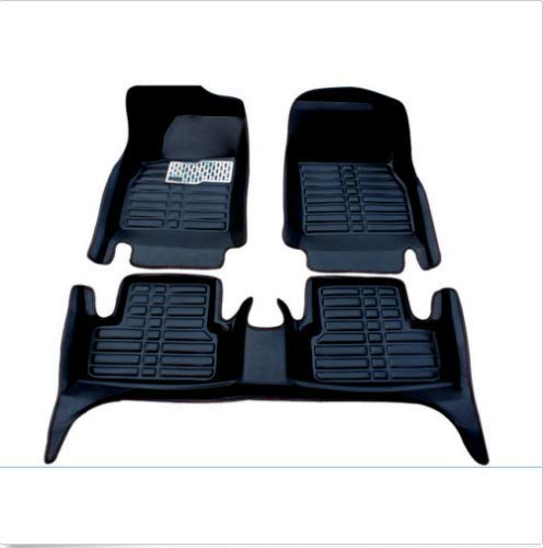 (FidgetKute Car Mats for 2006-2019 Nissan sentra (Sedan) Car Floor Mats Carpets Waterproof Black)
