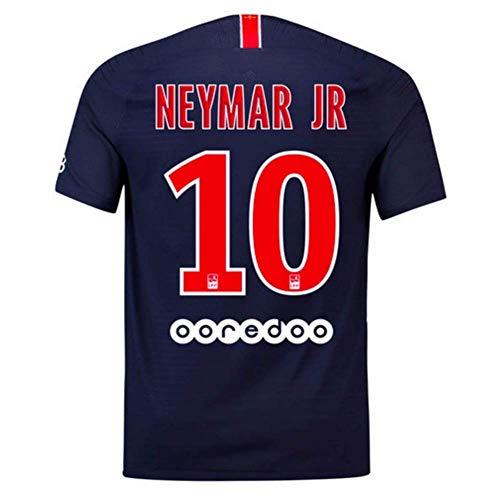 96d159600 Neymar JR 10 Paris St Germain (PSG) Home Men s Soccer Jersey 2018 2019  Season Color Blue Size M