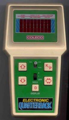 1978 Vintage Electronic Quarterback (Vintage Handheld Electronic Games)