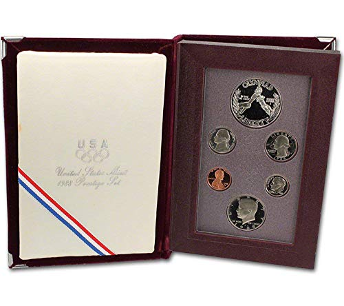 1988 US Mint Prestige Proof Set Original Government - 1988 Mint