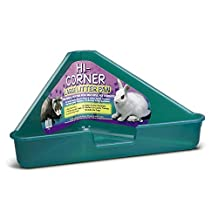 Interpet Limited Superpet Large Corner Litter Pan (Assorted Colours) (One Size) (Assorted)
