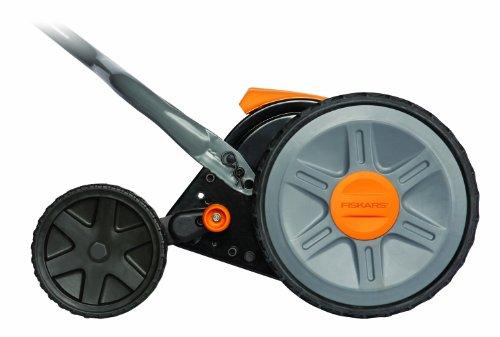 046561162085 - Fiskars 17 Inch Staysharp Push Reel Lawn Mower (6208) carousel main 2