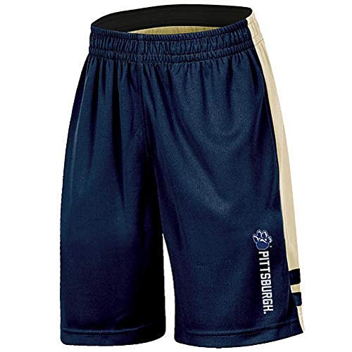 NCAA Boys Pittsburgh Panthers Basketball Shorts Size 8-10 by Campus Lifestyle