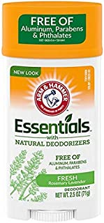 product image for ARM & HAMMER Essentials Natural Deodorant Fresh Rosemary Lavender 2.50 oz (Pack of 4)