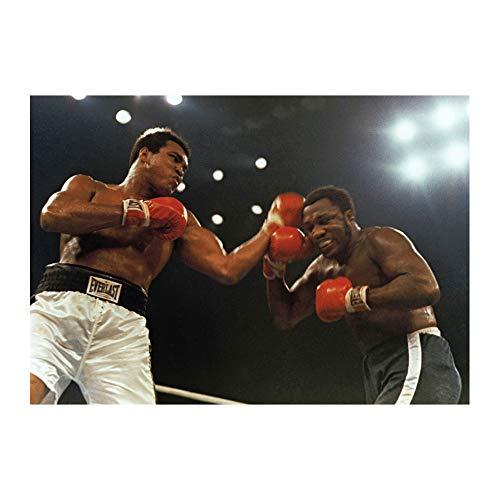 Muhammad Ali Joe Frazier Boxing Sprot Wall Decor 24x36 Inches Art Print Photo Paper Material -