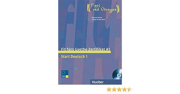 Fit furs Goethe-Zertifikat: A1 Book & CD: Frauke van der Werff ...