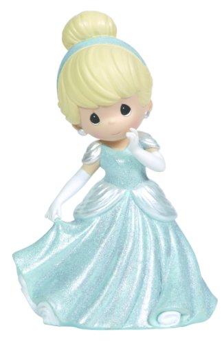 (Precious Moments, Disney Showcase Collection, Girl As Cinderella, Resin Rotating Music Box, 124102)