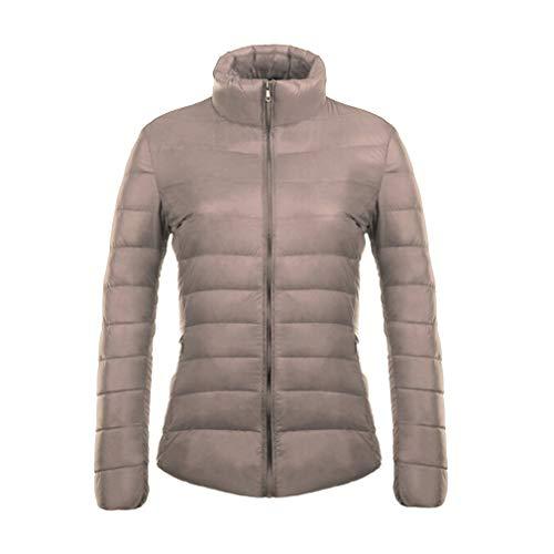 Da Parka Slim Ultraleggere Fangcheng Cachi Giacche Collar Stand Cappotto 3xl Donna Short Plus Size tBtq8zfpw