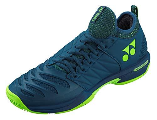 Tennis Apparel Boast - Yonex Power Cushion Fusion Rev 3 Men's Tennis Shoe, Navy (Size 9)