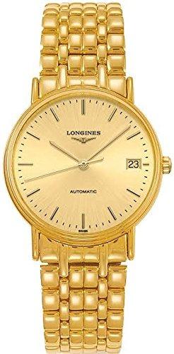 - Longines Classique Presence Automatic Gold-Tone Ladies Watch L48212328