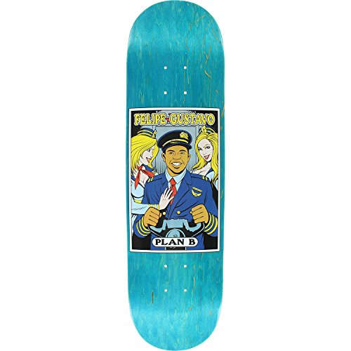 (Plan B Felipe Alter Ego Deck 8.25 - Assembled as Complete Skateboard)