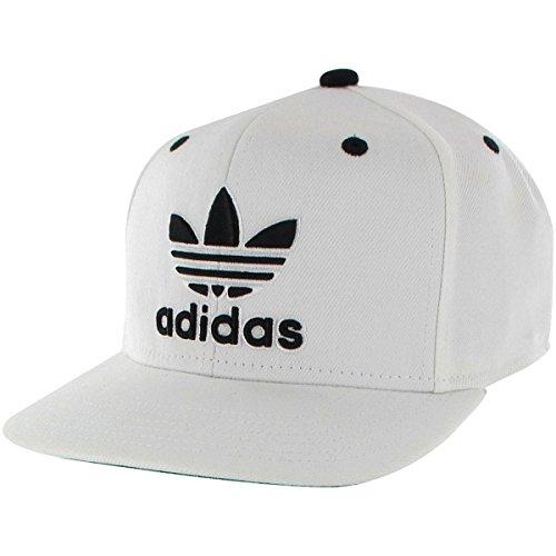 Amazon.com  adidas Thrasher Snapback Hat Black White 775bb7513cb