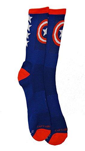 captain america dress socks - 3