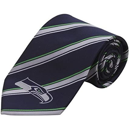 Seattle Seahawks One Size Eagles Wings Seattle Seahawks Woven Polyester Tie