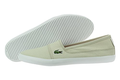 Lacoste Women's Marice RES Fashion Sneaker, Natural, 9 M US