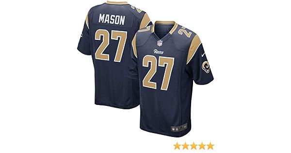 Nike Youth Los Angeles Rams TRE Mason #27 Player Jersey