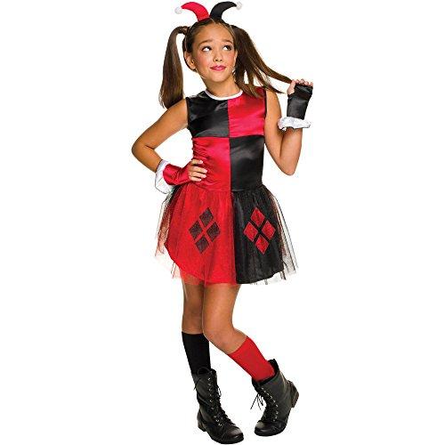 Girls Rubies DC Comics Harley Quinn Tutu Dress Costume Size Small 4/6