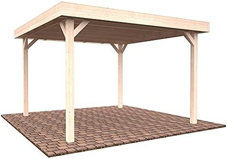 Pérgola cenador de madera para el jardín, 12,2 m²: Amazon.es: Hogar