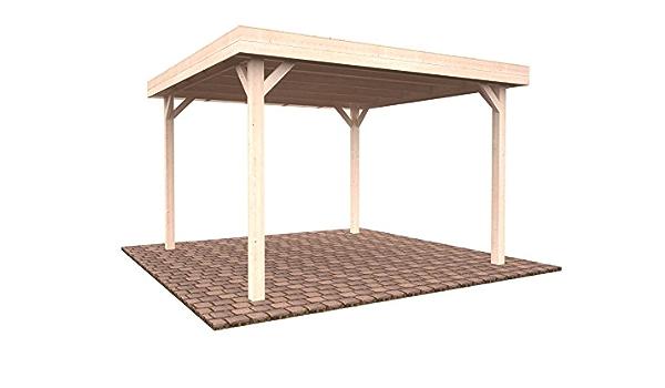 Pérgola cenador de madera para el jardín, 12,2 m²: Amazon.es ...