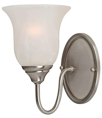Hardware House Saturn Fixture, Satin Nickel