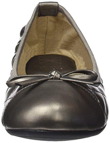 Butterfly Twists Women's Bt21-007-008 Closed Toe Ballet Flats Silver (Pewter) 02QrUiSAr