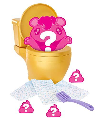 Mattel Pooparoos Surpriseroos Figure with Toilet Assortment