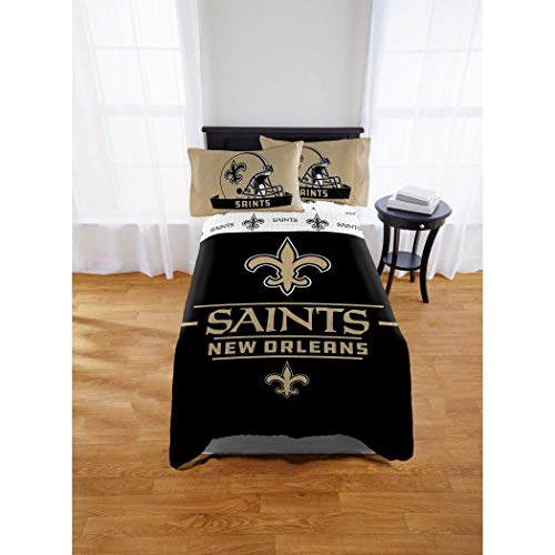 - New Orleans Saints Full Comforter & Sheet Set, 5 Piece NFL Bedding, New! + Homemade Wax Melts