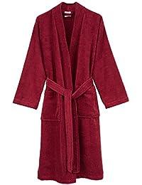 Men's Robe, Turkish Cotton Terry Kimono Bathrobe, Made in Turkey