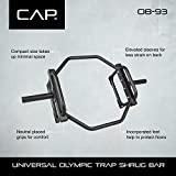 CAP Barbell Olympic Trap Bar, Hex Bar, Shrug