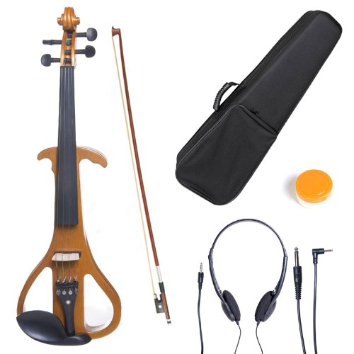 cecilio-4-4-cevn-4y-solid-wood-electric-silent-violin-with-ebony-fittings-in-style-4-full-size-yello
