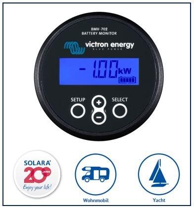 Premium victron Batterie Moniteur bmv-702 SOLARA