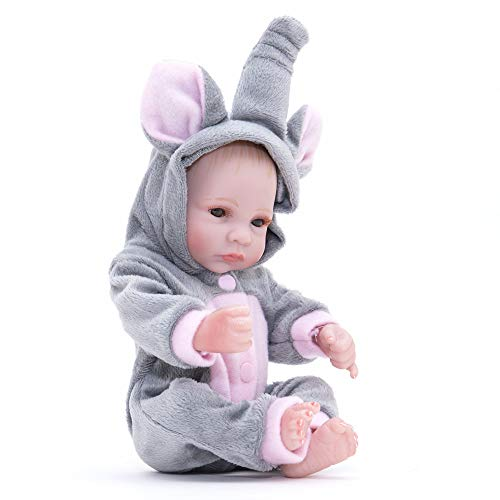 AFYH Rebirth Doll, Doll Simulation Baby - can take a Bath - Silicone Doll - Silicone Rubber, Child Growth Companion - Resistance to bite - Collection Art. by AFYH (Image #1)