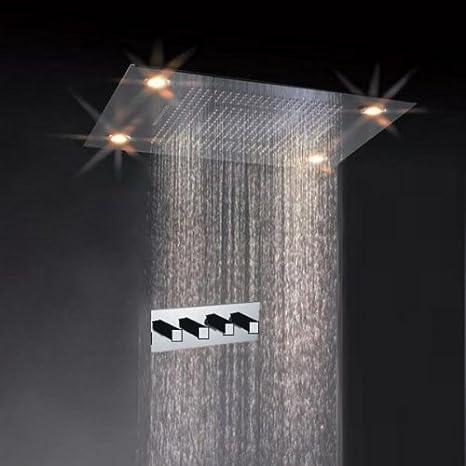 Amazon.com: Diseño clásico 31 inch Juego de ducha de lluvia ...
