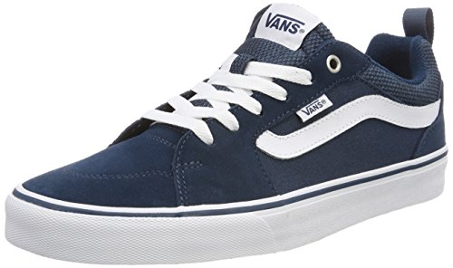 Vans Filmore Blu Suede Canvas Sneaker Uomo AfYAZw