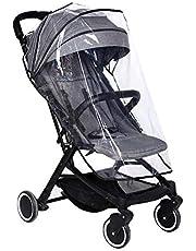 Eva Universele regenhoes voor kinderwagen, regenhoes van Eva voor buggy, goede luchtcirculatie, vrij van schadelijke stoffen, transparant