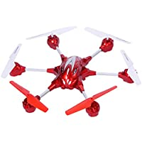 New MTN-G W609-10 4.5CH 2.4G Remote Control RC Gyro RTF Hexacopter w/ HD Camera Red