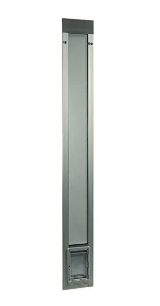 Ideal Pet Products 80u0026quot; Fast Fit Aluminum Pet Patio Door, Small, 5u0026quot;