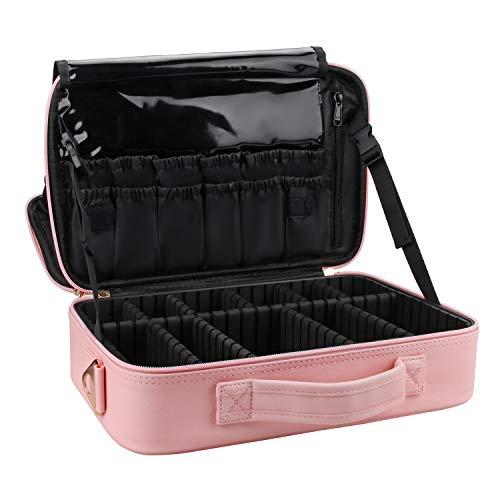 Maletin Para Maquillaje Profesional pink /black medium