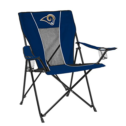 Logo Brands NFL LA Rams Chair Game Time Chair