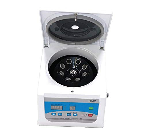 (PRP Centrifuge - TD4C Medical Beauty Blood Centrifugal Machine with Digital Display Laboratory Low Speed Benchtop Centrifuges 8 x 10/15ml 100-4000rpm)
