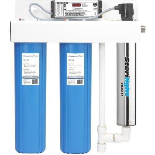 Big Blue & UV Integrated Sterilizer SC320-DWS22 Sterilight Cobalt 10-25 GPM Whole House Filter System